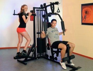 Christopeit Profi Center de Luxe Fitness-Station, schwarz, 99881 -