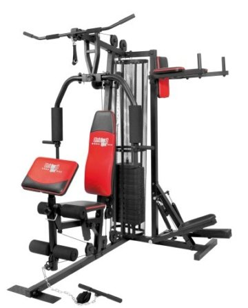 Christopeit Profi Center de Luxe Fitness-Station, schwarz, 99881 -