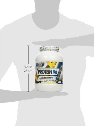 Frey Nutrition Protein 96 Vanille Dose, 1er Pack (1 x 750 g) -