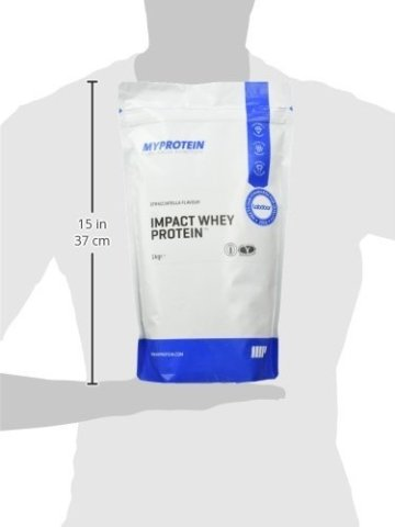 Myprotein Impact Whey Protein Straciatella, 1er Pack (1 x 1 kg) -