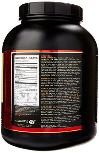 Optimum Nutrition Whey Gold Standard Protein, Vanille, 2,3kg -