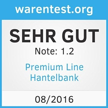 Premium Line Hantelbank - Das Original von Profihantel -