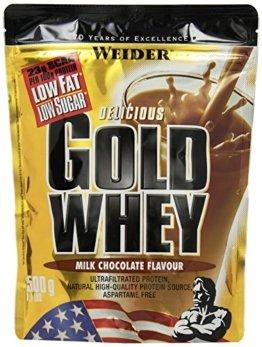 Weider Gold Whey Protein, Schoko (1 x 500 g) -