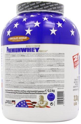 Weider Premium Whey Protein, Schoko-Nougat (1 x 2.3 kg) -