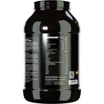 ZEC+ 100% WHEY ISOLAT | Eiweiß-Drink | Molkenprotein | Low CARB Low FAT | guter Geschmack | für OPTIMALE Aufnahme | Geschmack ERDBEERE 1000g -