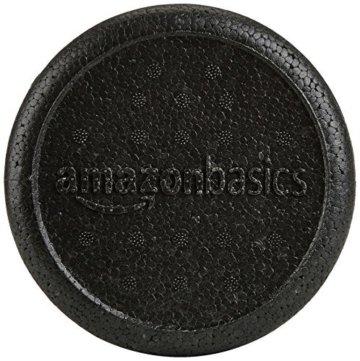 AmazonBasics Hochdichte Schaumstoffrolle, Faszienrolle, 30cm -