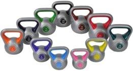 Color-Line Kettlebell Kugelhantel Hantel Gewicht Handgewicht Satz von 2 - 20Kg (11 Stück) inkl. deutschsprachiger bebilderter Trainingsanleitung -