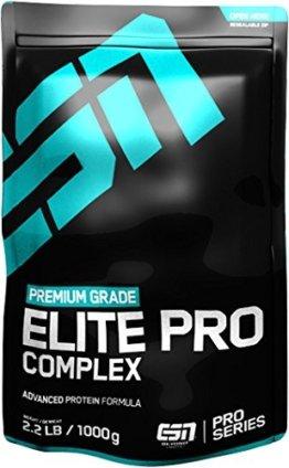 ESN Elite Pro Complex Protien, Vanilla, 1000g Beutel -