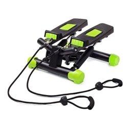 Fitkraft Twister FTKTSTEPSWI000 Swing Stepper Drehstepper Sidestepper mit Computer und Expande Schwarz -