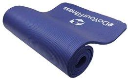 Fitnessmatte »Yamuna« / EXTRA-dick und weich, ideal für Pilates, Gymnastik und Yoga, Maße: 183 x 61 x 1,5cm, blau -