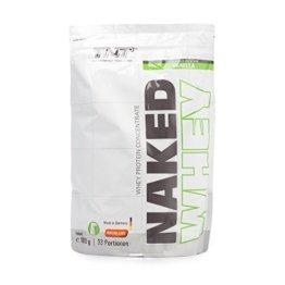 Hochwertiges Whey-Protein Konzentrat - Made in Germany | Eiweiß-Shake für Muskelaufbau und Abnehmen | Aspartamfrei, Glutenfrei mit BCAA | TNT NAKED WHEY Protein-Pulver 1kg Beutel / VANILLE -