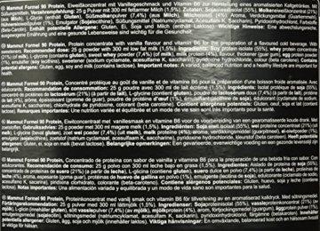 Mammut Formel 90 Protein, Vanille, 1er Pack (1 x 3kg) -