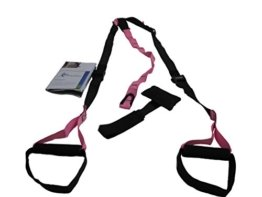 Slingtrainer inkl. Übungsposter, pink -