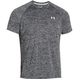 Under Armour Herren Fitness T-shirt und Tank UA Tech SS Tee, schwarz, XS, 1228539-009 -