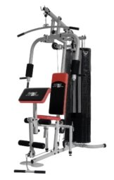 Christopeit Multistation Fitness-Station SP 20 XL, schwarz/weiß/rot, 145 x 115 x 200 cm, 1386 -