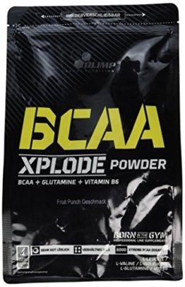 Olimp BCAA Xplode Powder Fruit Punch, 1er Pack (1 x 1 kg) -