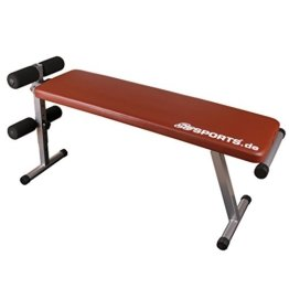 ScSPORTS Trainingsbank Klappbare, rot, 1150015 -
