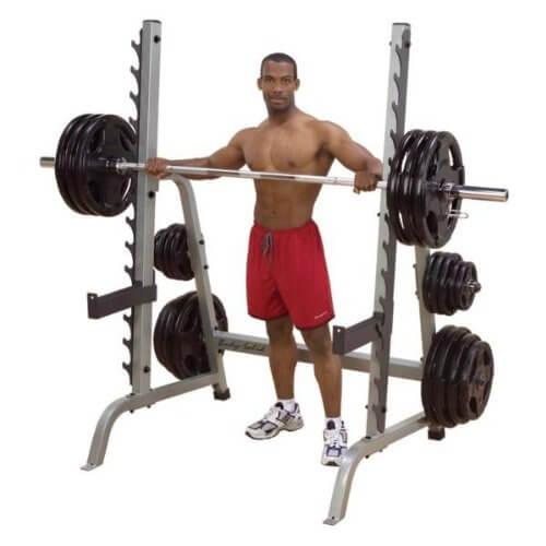 Body Solid Half Rack Test