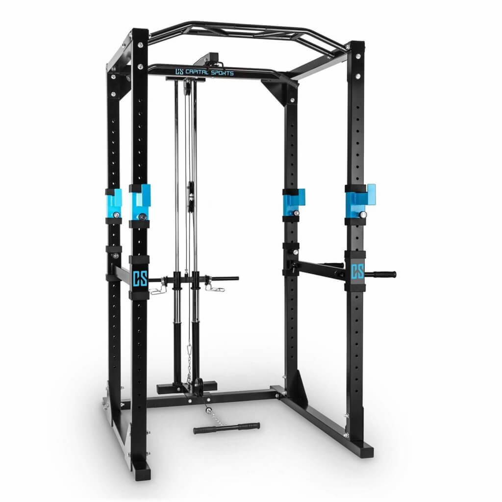 Power Rack mit Kabelzug